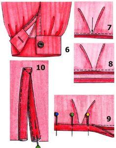 How to sew manset