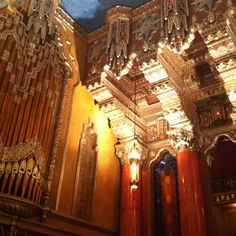 Fox Theater Detroit.  Beautiful.  Not a bad seat in the house.