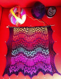 Kieran Foley knitting (links to main page of his blog)