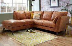 Kennedy Right Arm Facing 2 Piece Corner Sofa Outback