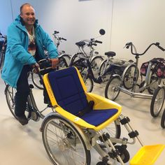 The Duet wheelchair bike.>>> See it. Believe it. Do it. Watch thousands of spinal cord injury videos at SPINALpedia.com