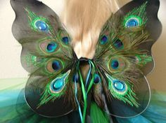 peacock feather butterfly tattoo - Google Search