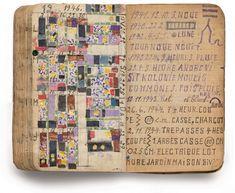 carnet d'artiste : Jean Fick, art brut, 1941