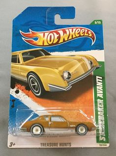 2011 Hot Wheels Super Treasure Hunt Studebaker Avanti from Redline Club Set #HotWheels #Studebaker
