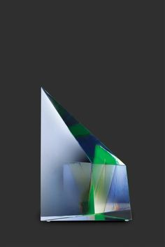 Mark Peiser Planet Series, 1974 8.5 x 5 x 3 inches Cast & Polished Glass