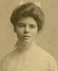 Alice Paul, mover and shaker in the women's suffrage movement. Thank you Alice!