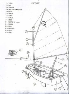 Optimist Pram plans and building questions | boats | Pinterest | Sailboat plans, Building and ...