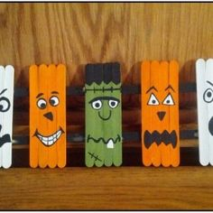 Halloween Craft Ideas With Popsicle Sticks