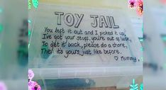 """One mom came up with the perfect solution for kids who refuse to clean up after themselves which she's calling """"Toy Jail."""" erziehung This Ridiculously Simple Hack Will Make Sure Your Kid Cleans Up Their Toys Parenting Done Right, Kids And Parenting, Parenting Hacks, Parenting Styles, Parenting Plan, Parenting Quotes, Mom Hacks, Baby Hacks, Hacks For Kids"""