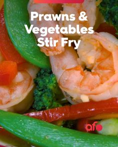 Chinese Prawn Recipes, Asian Recipes, Yummy Recipes, Food Network Recipes, Cooking Recipes, Smoker Recipes, Stir Fry Ingredients, Fresh Broccoli, Indian Street Food