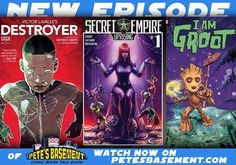 The boys have their Wonder Woman tickets and I don't need no golden lasso to tell you they're excited! Supergirl Arrow Flash get the usual treatment plus a rumor about Gotham has got Pete hopeful. Plus lots of great books this week. So grab your rosé out of the ice box sit back and enjoy the show!  Watch: http://ift.tt/2sN0kVI #AbIrato #AnimalJam #Arrow #BloodBrawl #Cable #Castlevania #ChilltheRose #Episode #Flash #Gotham #IamGroot #KeyserSozeScorchedEarth #LittleNightmares #Lucifer…