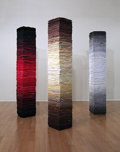 """""""INSTALACIÓN"""" – SIGNO, LÍNEA DE FUGA Y TRANSFORMACIÓN - """"The Painful Spectacle of Finding Oneself"""" – Instalación: Derick Melander© #installation #art #contemporarart #surreal #milmesetas #creemosenelasombro"""