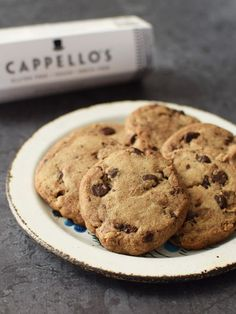 """Cappello's Gluten Free Cookie Dough by Primal Palate - this """"almost paleo"""" treat is an artisan creation that is just lightly sweet."""