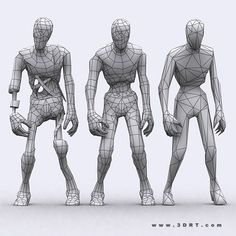 Znalezione obrazy dla zapytania 3d modeling female reference