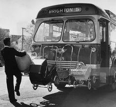 Brighton # 5 Bus, Christchurch, New Zealand