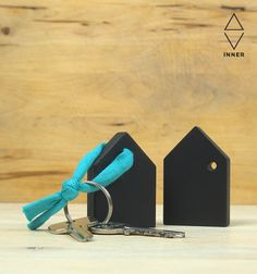 blackboard key rings