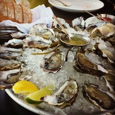 If you want the best selection of oysters, Waterbar is the place for you....  I really need to give Waterbar a try.