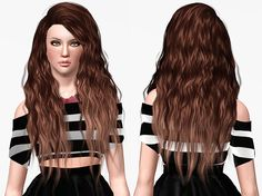 Stealthic Sleepwalking hairstyle Retextured by Chantel Sims for Sims 3 - Sims Hairs - http://simshairs.com/stealthic-sleepwalking-hairstyle-retextured-by-chantel-sims/