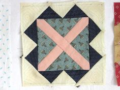 Blok 12 1865 passion sampler quilt