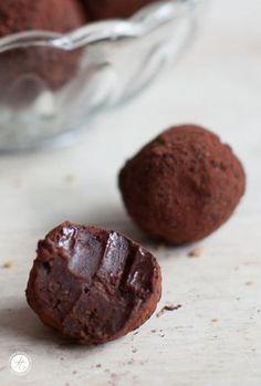 Spekulatius-Trüffel für vegane Version die Zutaten gegen vegane Sahne, Schokolade austauschen!!!