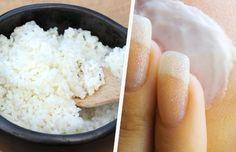 Verjong de huid op simpele en effectieve manier door gebruik te maken van dit uiterst voordelige 'Japanse' gezichtsmasker op basis van rijst en rijstwater.