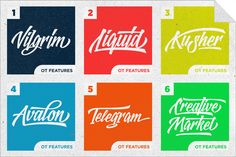 logotype frenzy font_the retro design toolbox