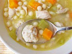 Homemade Chickarina Soup #recipe