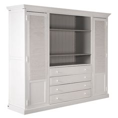 Awesome Charme de Provence Schrank Dion in antique white von Flamant DionProvence HamburgCharm