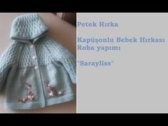 How to making baby cardigan – Harika El işleri-Hobiler Baby Knitting, Crochet Baby, Knit Crochet, Baby Cardigan, Guerilla Knitting, Vestidos Chiffon, Sunflower Tattoo Design, Baby Sweaters, Down Hairstyles