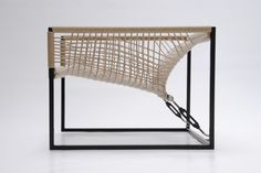 looove this chair Hanging Furniture, Wicker Furniture, Cool Furniture, Furniture Design, Metal Chairs, Patio Chairs, Steel Furniture, Chair Design, Upholstery