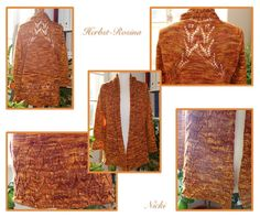 Ravelry: Herbst Rosina Jacke -Autumn Rosina Cardigan pattern by FadenStille Cardigan Pattern, Ravelry, Burlap, Reusable Tote Bags, Autumn, Knitting, Crochet, Tutorials, Creative