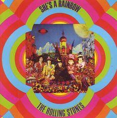 Testo e traduzione di She's a Rainbow,canzone dei Rolling Stones la cui parte iniziale costituisce la musica di sottofondo degli ultimi spot della Vodafone con Fabio Volo.