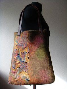 Felted Bag by FeltedPleasure