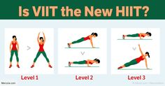 VIIT traditionally consists of low-intensity, medium-intensity and high-intensity segments that can include a wide variety of exercises.