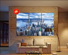 Hong Kong canvas art prints large wall art canvas print Hong Kong Wall Home office decor interior Office Decor