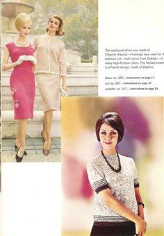 ON SALE Vintage 1960s Knitting Pattern Booklet by DRCRosePatterns