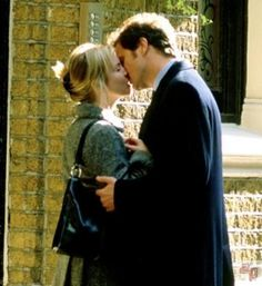 """""""Bridget: Wait a minute... nice boys don't kiss like that.   Mark Darcy: Oh, yes, they fucking do. """""""