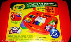 Win This Crayola 85 Piece Art Set from Free Samples