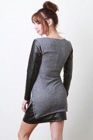 Uptown Slice Dress