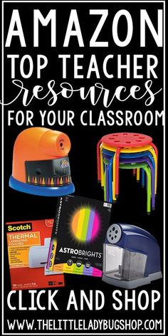 Amazon Teacher Resources is possibly the best thing ever for teachers! We are often limited to time to shop for things we need for our classroom, and by the time we make it to the store we just do without. The great thing about shopping online is we are able to add things to our carts that we …