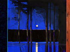 Måneskinn for EM 2009 Kjell Npen Moonlight Painting, Social Art, Scandinavian Art, Light In The Dark, Soft Light, The Guardian, Contemporary Artists, Art Tutorials, Impressionist