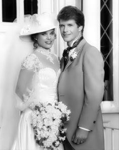 Celia and Grant -- Wedding - general-hospital-80s Photo