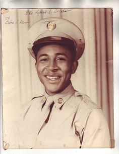 Great Vintage Photo Handsome African American Man Military Army Must See Smile | eBay