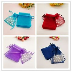 Cheap Gift Bags & Wrapping Supplies, Buy Quality Home & Garden Directly from China Suppliers:100 Pcs Organza Gift Bags Small & Big Jewelry Packaging Bags Drawable Gift Bag Organza Party Wedding Christmas Jewelry Pouches Enjoy ✓Free Shipping Worldwide! ✓Limited Time Sale ✓Easy Return. Christmas Gift Bags, Christmas Jewelry, Christmas Wedding, Candy Packaging, Jewelry Packaging, Big Jewelry, Jewelry Gifts, Jewelry Pouches, Cheap Gift Bags