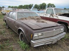 Many of the vehicles had rust, damage, and weather damage. Not all New cars faired well. This is a New Chevy Impala. Was purchased for Derby or Restore.