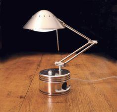 RocketGarage Cafe Racer: Genuine Piston Lamps