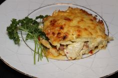 Lasagna, Chili, Bacon, Meat, Chicken, Ethnic Recipes, Cod, Red Peppers, Chile