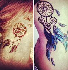 #tattoo #dreamcatcher #placing #pretty #cute
