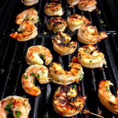 Thai Chili Lemongrass Grilled Shrimp with Sweet Basil & Lime Fried Rice – Delightful-Delicious-Delovely Baked Shrimp Scampi, Fried Shrimp, Spicy Shrimp, Fried Rice, Shrimp Pasta, Grilled Shrimp Recipes, Seafood Recipes, Chicken Soup Recipes, Lemon Grass