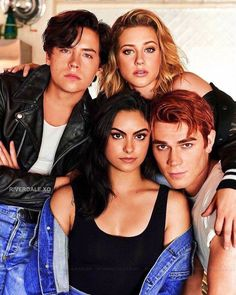 "4,736 Me gusta, 11 comentarios - sαяα ℓαηcε ⚔️ (@riverdale.xo) en Instagram: ""Core Four - - - #archiecomics #memes #sprousehart #Jughead #riverdale #veronicalodge #bettycooper…"""
